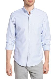 J.Crew Slim Fit Stretch Stripe Pima Cotton Oxford Shirt