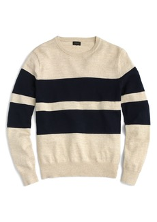 J.Crew Slim Fit Uneven Budding Stripe Sweater