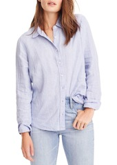 J.Crew Slim Perfect Cross Dyed Irish Linen Shirt (Regular & Petite)