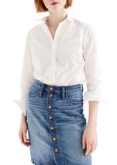 J.Crew Slim Stretch Perfect Shirt (Regular & Petite)