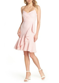 J.Crew Spaghetti Strap Ruffle Dress