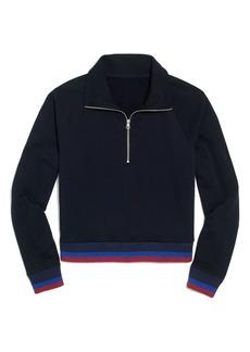 J.Crew Sport Stripe Half Zip Jacket