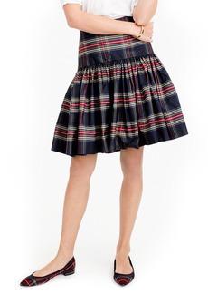 J.Crew Stewart Plaid Taffeta Skirt (Regular & Petite)