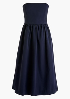 J.Crew Strapless Fit & Flare Dress