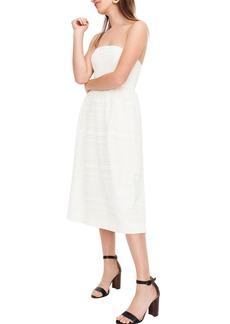 J.Crew Strapless Lace Dress