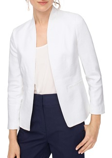 J.Crew Stretch Linen Blend Going-Out Blazer