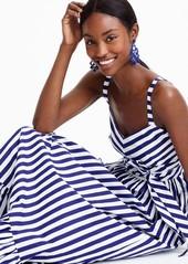 50ba8b0b273 J.Crew J.Crew Stripe Ruffle Cotton Maxi Dress (Regular   Plus Size ...
