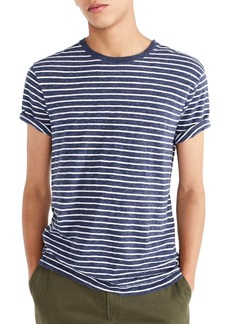 J.Crew Stripe Slub Cotton T-Shirt