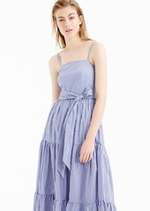 96eed8d7068 J.Crew J.Crew Stripe Tiered Maxi Dress (Regular   Petite)