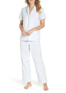 J.Crew Striped Sleep Short Sleeve Pajamas