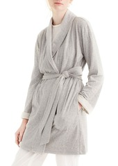 J.Crew Sunday Double Knit Short Robe