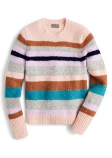 J.Crew Sur Point Stripe Alpaca & Merino Wool Blend Sweater