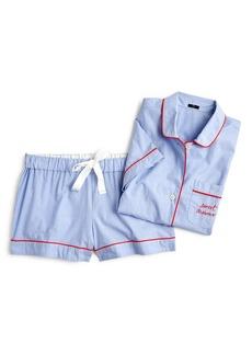 J.Crew Sweet Dreams Short Pajamas