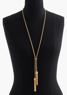 J.Crew Tassel Pendant Necklace
