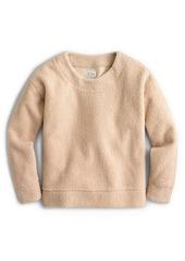 J.Crew Teddy Crop Sweatshirt