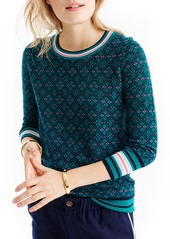 J.Crew Tippi Festive Fair Isle Sweater