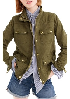 J.Crew Uncoated Downtown Field Jacket