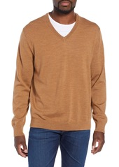 J.Crew V-Neck Merino Wool Sweater
