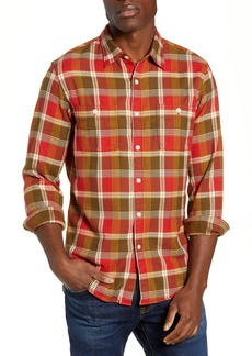 J.Crew Wallace & Barnes Slim Fit Plaid Flannel Shirt