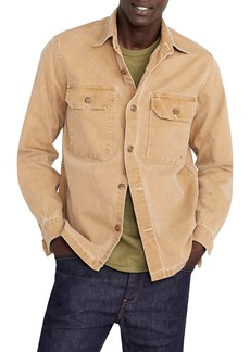 J.Crew Wallace & Barnes Stretch Duck Canvas Shirt Jacket