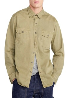 J.Crew Wallace & Barnes Two-Pocket Workshirt