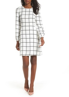 J.Crew Windowpane Check Dress (Nordstrom Exclusive)