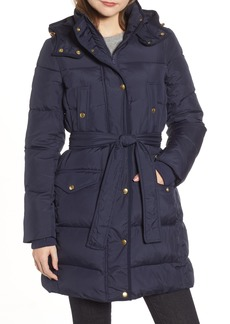 J.Crew Wintress Belted Down Puffer Coat (Regular & Petite)