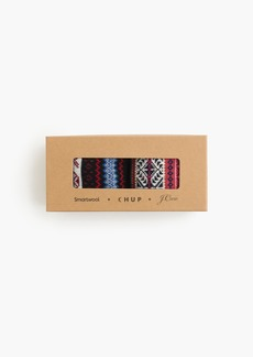 J.Crew X Chup™ smartwool® duo pack