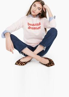"J.Crew X prinkshop ""Beautiful Dreamer"" sweatshirt"