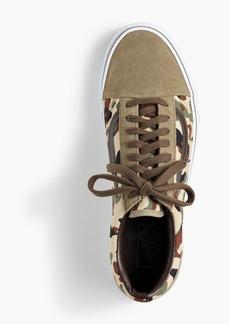 huge discount 0194a df9b5 J.Crew X Vans® Old Skool sneakers in camo suede