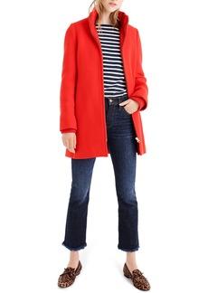 J.Crew Yulia Wool Blend Coat (Regular & Petite)