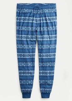 J.Crew Jersey pajama pant in Fair Isle