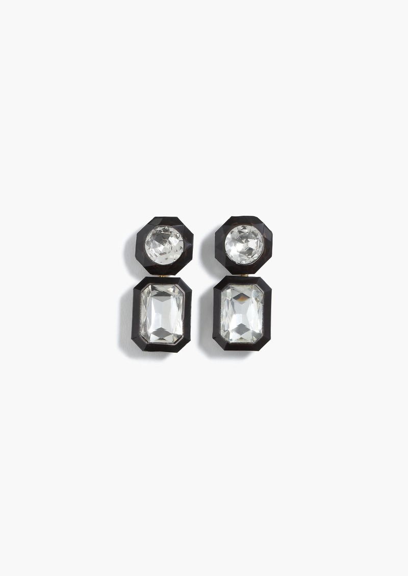 J.Crew Jewel box drop earrings