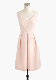J.Crew Kami dress in classic faille