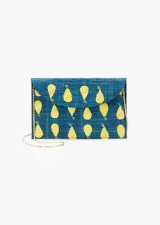 J.Crew Kayu™ hand-embroidered envelope clutch