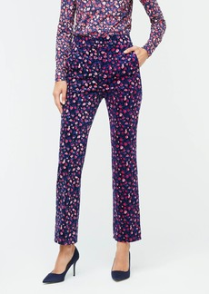 J.Crew Kickout cord pant in dotted floral