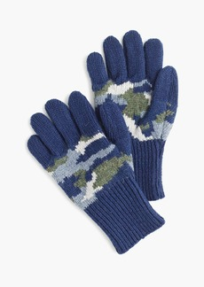 J.Crew Kids' camo gloves