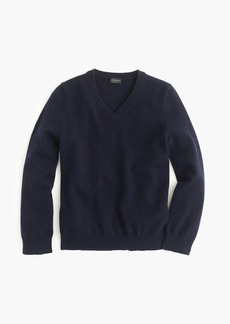 J.Crew Kids' cashmere V-neck sweater