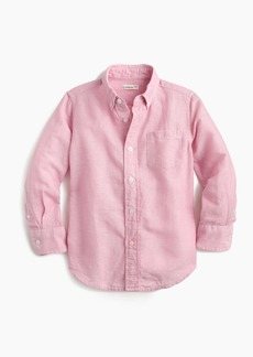 J.Crew Kids' cotton-linen shirt