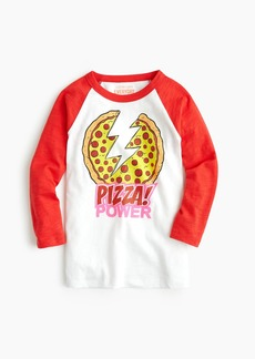 """J.Crew Kids' crewcuts X Nickelodeon™ """"pizza power"""" T-shirt"""