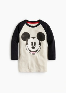 J.Crew Kids' Disney® for crewcuts Mickey Mouse baseball T-shirt