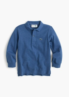 Kids' Lacoste® for J.Crew long-sleeve polo shirt