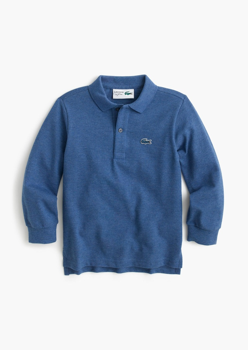 J Crew Kids 39 Lacoste For J Crew Long Sleeve Polo Shirt