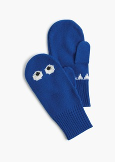 J.Crew Kids' Max the Monster mittens in blue