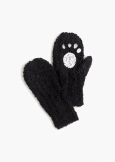 J.Crew Kids' panda mittens in supercozy yarn