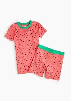 J.Crew Kids' short pajama set in watermelon