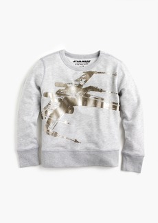 J.Crew Kids' Star Wars™ for crewcuts X-wing sweatshirt