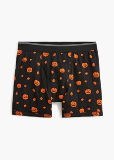 J.Crew Knit boxer brief in pumpkin print