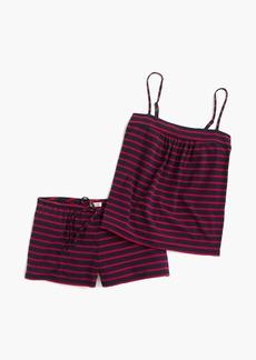 J.Crew Knit pajama set in stripe