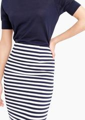 J.Crew Knit pencil skirt in stripe